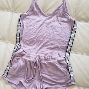 💜VS PINK LAVENDER LOUNGE OUTFIT SIZE S💜